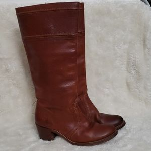 Frye Jane tall leather boot